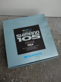 New in the box pair of Shimano 1050 blue hubs for UniGlide