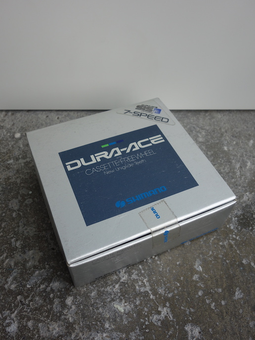 New in the box Shimano Dura-Ace Uni Glide 7400 7 speed Cassette