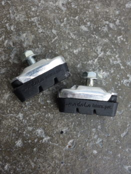 Modolo Flash brake pads and holders