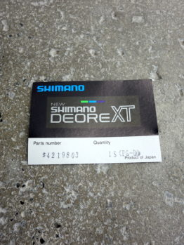 Shimano XT original toe clips for M730 pedals