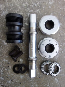 Shimano XT Italian threaded bottom bracket for M730 cranks