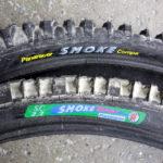 "Pair of Panaracer Smoke and Dart 26"" MTB tyres"