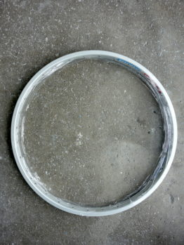 Ritchey Rock Pro silver rim set with 32 holes