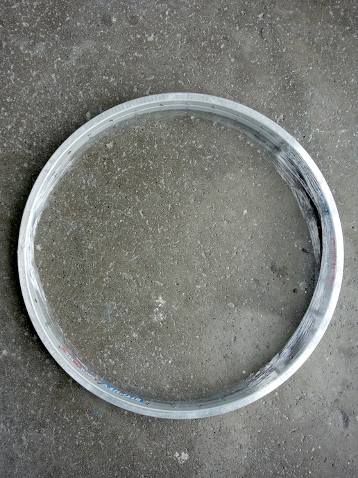 Ritchey Rock Pro silver rim set with 36 holes