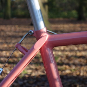 Anatomy of a vintage mountain bike - the finest workmanship