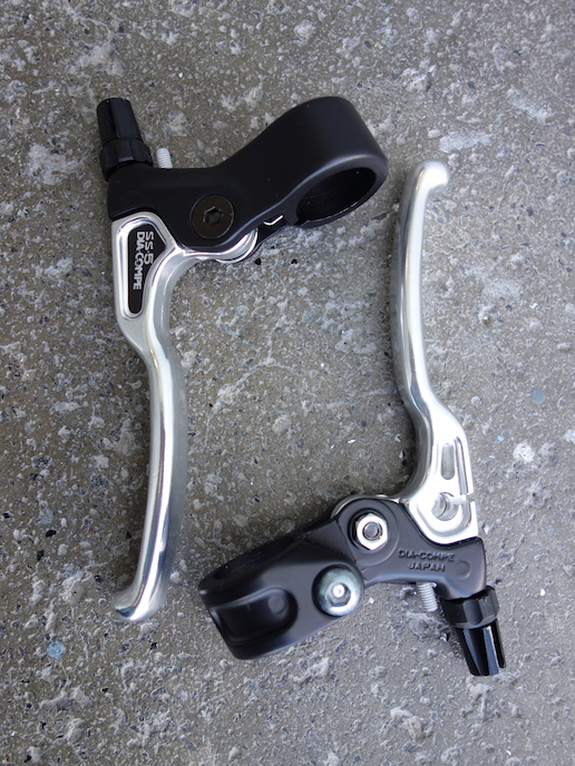 Dia Compe SS5 lightweight brake levers for cantis