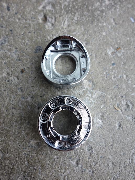 NOS Shimano down tube shifter back plates -Shimano Y-643 38101