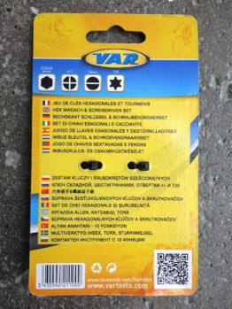 VAR MF-21100C multitool compact and light weight