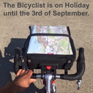 The Bicyclist is on Holiday...