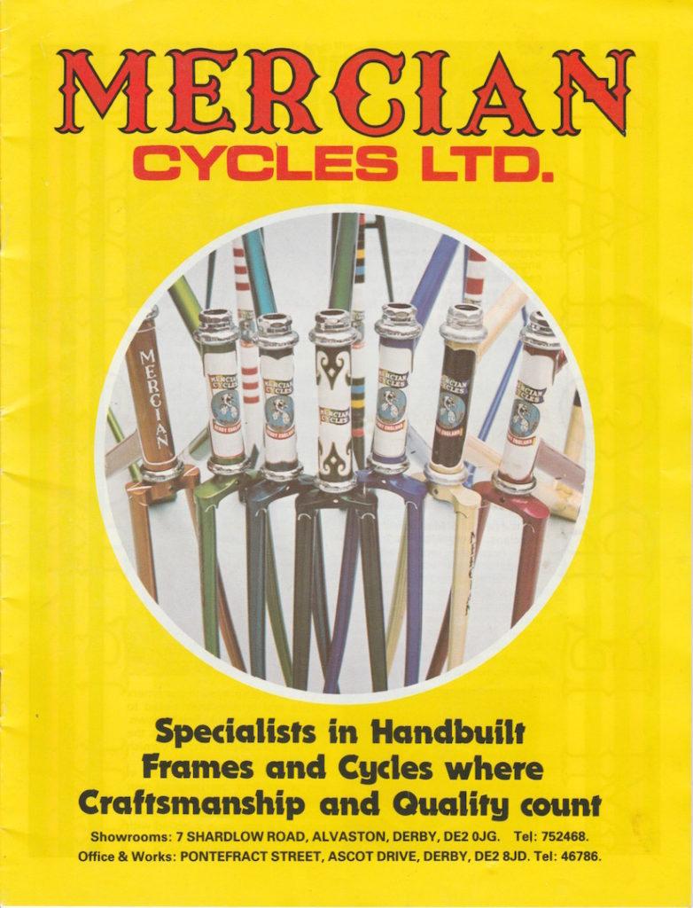 Mercian colour catalogue - 1980s