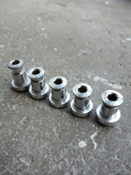 Campagnolo triple chainring bolt and spacer set