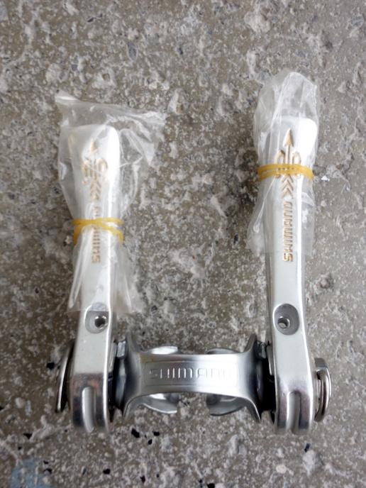 Shimano 105 Golden Arrow downtube shifters