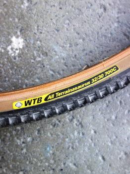 WTB All Terrainasaurus 700c skinwall tyre